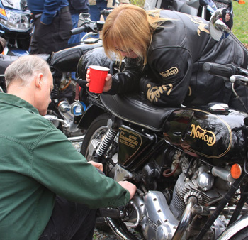 Working on a Norton