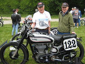 Joe Clements with Bob McKeever and Manx